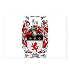 Russell Coat of Arms Postcards (Package of 8)