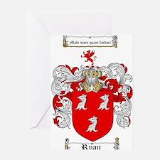 Ryan Coat of Arms Greeting Card