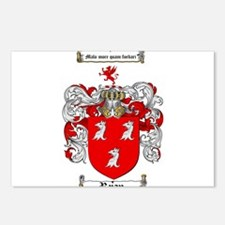 Ryan Coat of Arms Postcards (Package of 8)