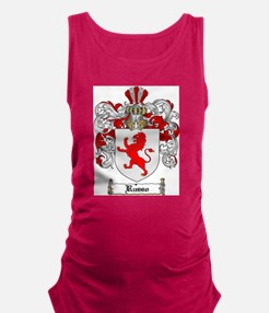 Russo Coat of Arms Maternity Tank Top