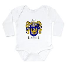 Sanchez Coat of Arms Long Sleeve Infant Bodysuit
