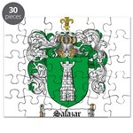 Salazar Coat of Arms Puzzle