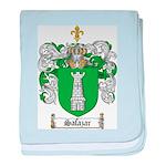 Salazar Coat of Arms baby blanket