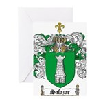 Salazar Coat of Arms Greeting Cards (Pk of 20)