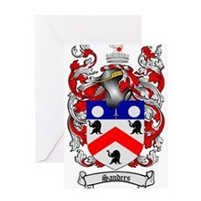 Sanders Coat of Arms Greeting Card