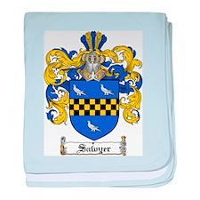Sawyer Coat of Arms baby blanket
