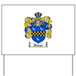 Sawyer Coat of Arms Yard Sign