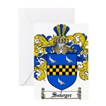 Sawyer Coat of Arms Greeting Card