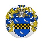 Sawyer Coat of Arms Ornament (Round)
