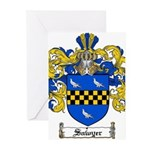Sawyer Coat of Arms Greeting Cards (Pk of 10)