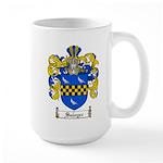 Sawyer Coat of Arms Large Mug
