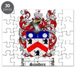 Saunders Coat of Arms Puzzle