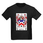 Saunders Coat of Arms Kids Dark T-Shirt