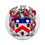 Saunders Coat of Arms Ornament (Round)