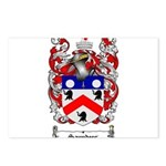 Saunders Coat of Arms Postcards (Package of 8)