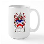 Saunders Coat of Arms Large Mug