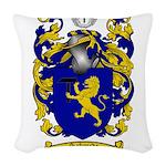 Schmidt Coat of Arms Woven Throw Pillow