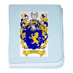 Schmidt Coat of Arms baby blanket