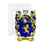 Schmidt Coat of Arms Greeting Card