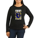 Schmidt Coat of Arms Women's Long Sleeve Dark T-Sh
