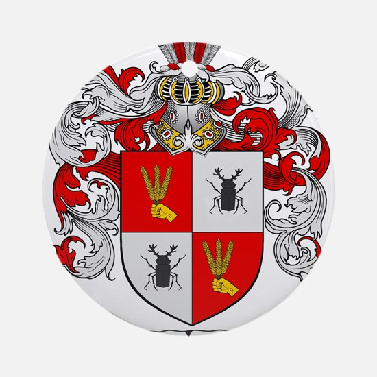 Schroeder Coat of Arms Ornament (Round)