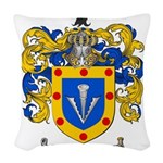 Sharp Coat of Arms Woven Throw Pillow