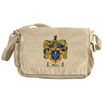 Sharp Coat of Arms Messenger Bag