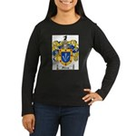 Sharp Coat of Arms Women's Long Sleeve Dark T-Shir