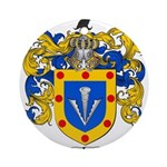 Sharp Coat of Arms Ornament (Round)