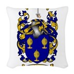 Shaw Coat of Arms Woven Throw Pillow