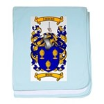 Shaw Coat of Arms baby blanket