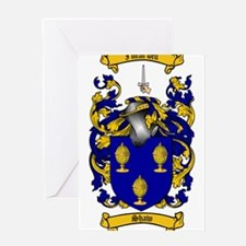 Shaw Coat of Arms Greeting Card