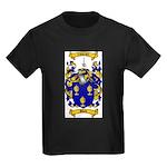 Shaw Coat of Arms Kids Dark T-Shirt