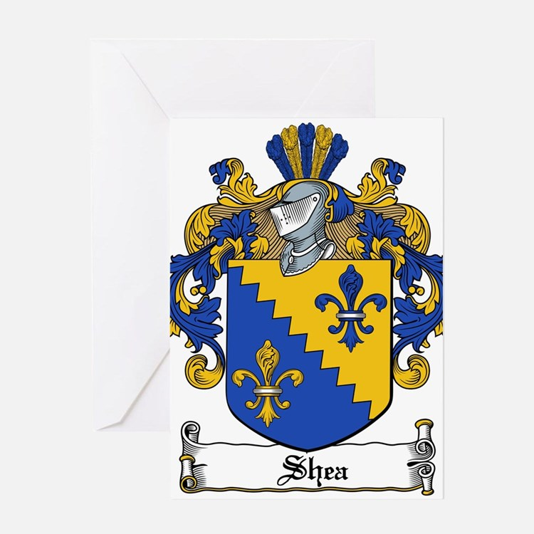 Shea Coat of Arms Greeting Card