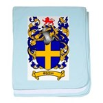 Shelton Coat of Arms baby blanket