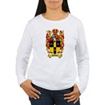 Simmons Coat of Arms Women's Long Sleeve T-Shirt