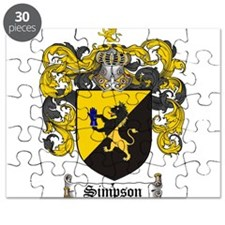 Simpson Coat of Arms Puzzle