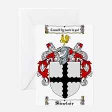 Sinclair Coat of Arms Greeting Card
