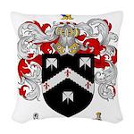 Smith Coat of Arms Woven Throw Pillow