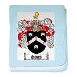 Smith Coat of Arms baby blanket