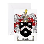 Smith Coat of Arms Greeting Cards (Pk of 20)