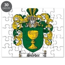 Snyder Coat of Arms Puzzle