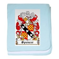Spencer Coat of Arms baby blanket