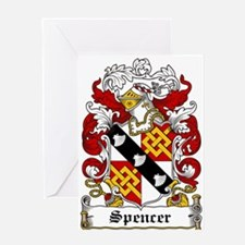 Spencer Coat of Arms Greeting Card