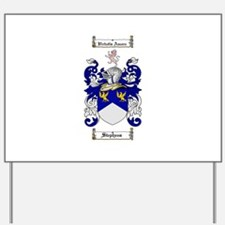 Stephens Coat of Arms Yard Sign