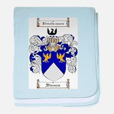Stevens Coat of Arms baby blanket