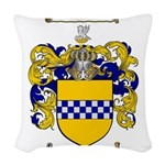 Stewart Coat of Arms Woven Throw Pillow