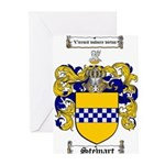 Stewart Coat of Arms Greeting Cards (Pk of 20)