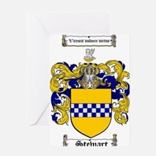Stewart Coat of Arms Greeting Card