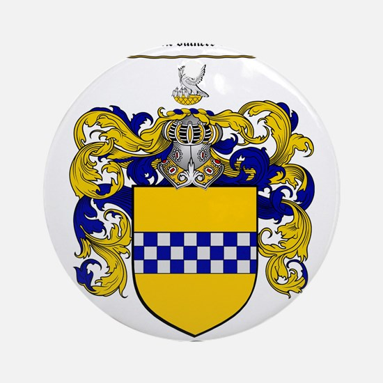 Stewart Coat of Arms Ornament (Round)